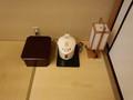 和室のお茶セット