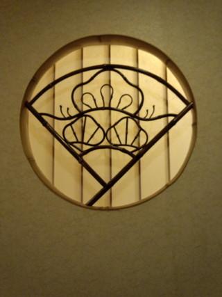 和室玄関の飾り