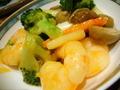 唐宮 海老と野菜の炒め物