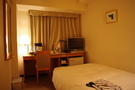普通のホテル。