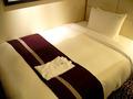 ベッドは140cm幅♪