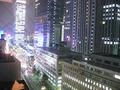 外を見れば、東京駅
