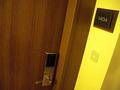 ドアノブと部屋番号
