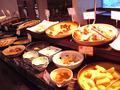 朝食バイキングは和食中心でした