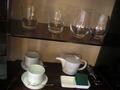 お茶セットやグラス【ホテル イル・パラッツォ】
