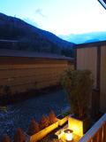 露天風呂付客室からの眺望