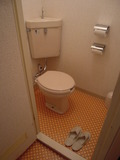 部屋のトイレです