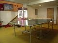 卓球コーナーがあります。