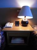 ベッドの照明など
