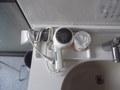 洗面台です
