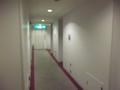 9階廊下です