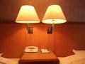 ベッドの照明