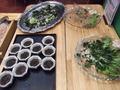 海藻サラダコーナー