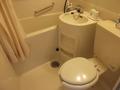 部屋のバス・トイレです