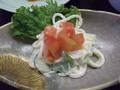 和食の「白浜膳」・サラダです