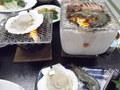 和食の「白浜膳」・網焼きです