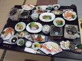 夕食は、和食の「白浜膳」になりました