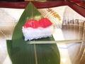 夕食・サクランボのお寿司?