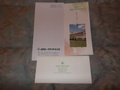 レターセット・ホテルのパンフレット