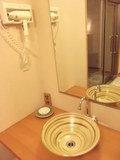 貸切風呂・「潮騒」の洗面台