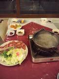 夕食・しゃぶしゃぶ鍋