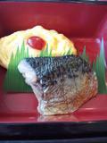 朝食・焼き魚