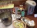 朝食バイキング・ドリンクバーです