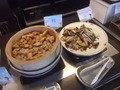 朝食バイキング・サバ・シシャモ