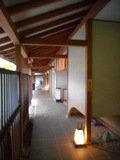 食堂に続く廊下