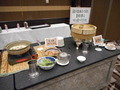 朝食・バイキング、湯豆腐