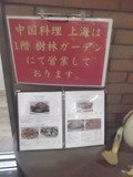 中国料理店メニュー