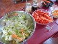 朝食バイキング・サラダ