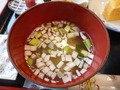 朝食・味噌汁