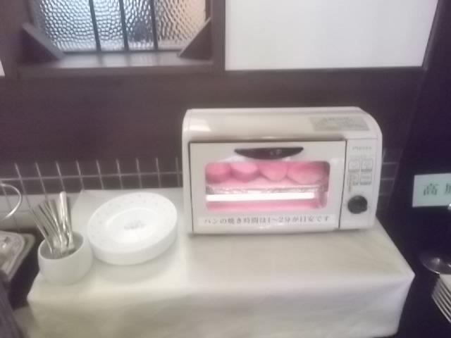朝食ーハーフバイキング・トースター