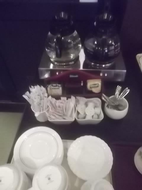朝食ーハーフバイキング・コーヒー