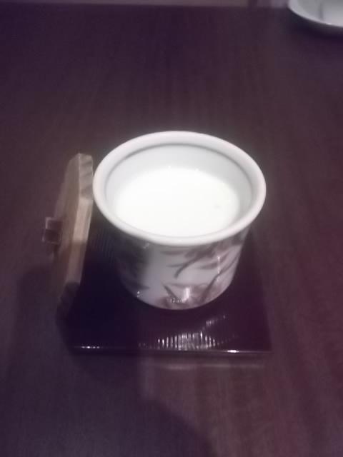 夕食・茶碗蒸し