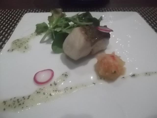 夕食・お魚料理