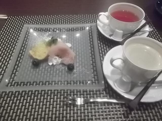 夕食・デザート