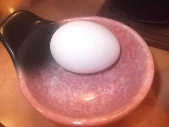 朝食・生卵