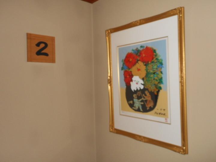 2階の表示板