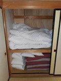 押入れの寝具です