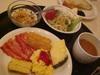 「白馬スプリングスホテル」の朝食バイキング2日目