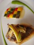 「クーカーニョ」コースランチの「メインディッシュお魚編」
