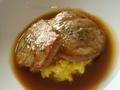 「クーカーニョ」コースランチの「メインディッシュお肉編」