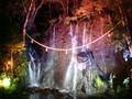 玉簾の瀧 夜間 ライトアップで良いムード♪