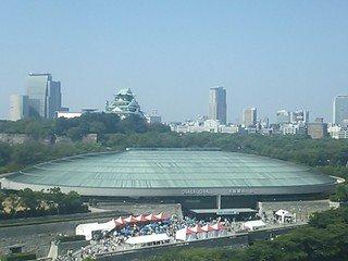 大阪城ビュー