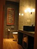 32階マンダリンスイート・ツインのトイレ