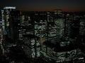32階マンダリンスイート・ツインからの夜景