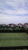 伊王島のホテルから見えた風景