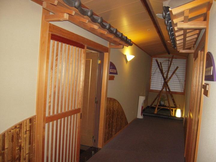 武家屋敷風の素敵な個室